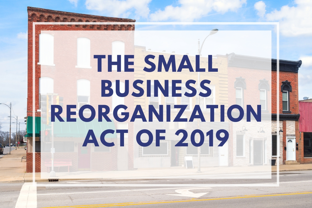 Let's Discuss Bankruptcy Reorganization for Small Businesses...Again